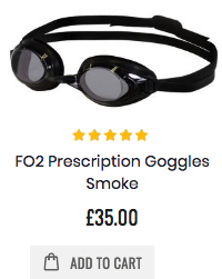 Swans FO2 Prescription Goggles