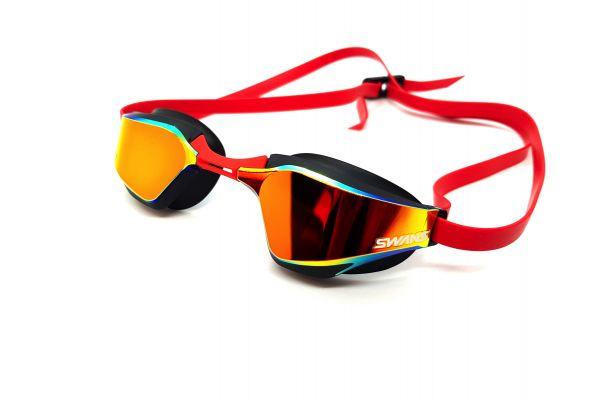 Blackened Goggles SR72 Mirrored