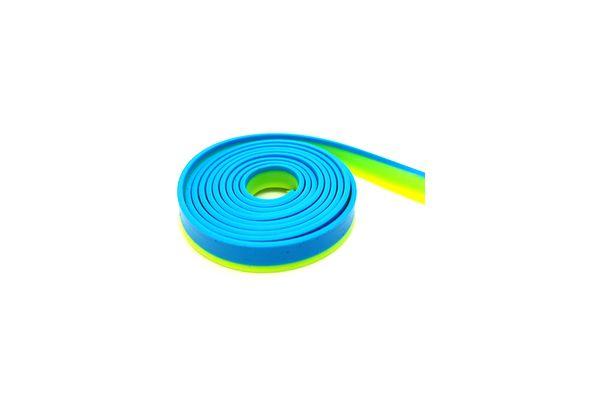 Two tone strap - Flash Yellow Blue