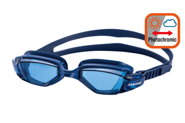 Photochromic Open Water Seven Swimming Goggles