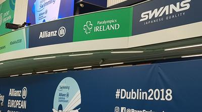 World Para Swimming European Championships 2018 - Dublin.